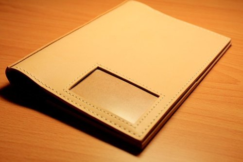 Seed's handmade leather - book clothing (This is A5 size)