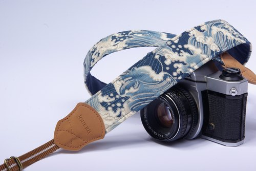 Sea wave Shuya camera strap 4.0