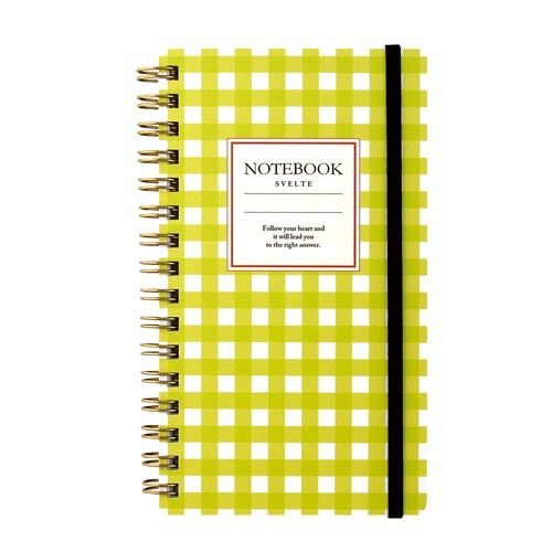 [Japanese] Svelte LABCLIP series Slim note notebook / yellow