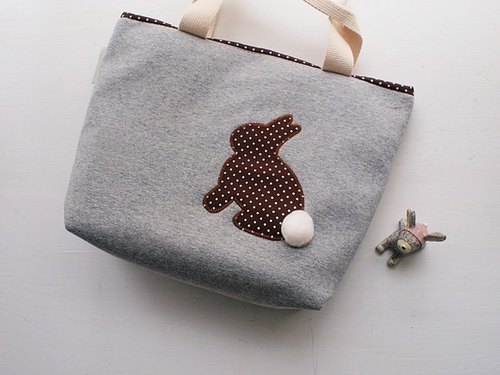 hairmo. Coffee little rabbit out of the bag - gray