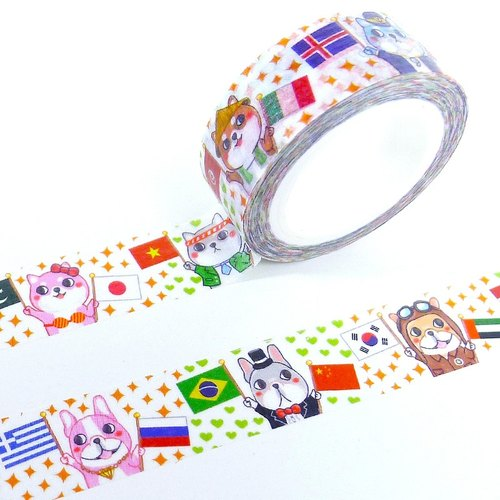 Dog World refueling mission / Little White Sox paper tape # C1a