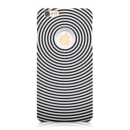 "iPhone 6S / 6S Plus [geometric fashion ""Lost and Delirious""] 3D stereoscopic relief printing + Easy Card Phone Case"