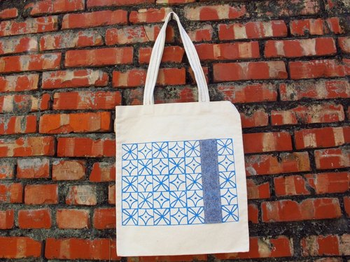 [Zhizhizhi] shoulder bag - Old House series - flowers tile