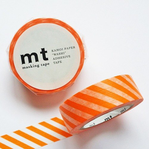 mt and paper tape Deco [twill - orange (MT01D246)]