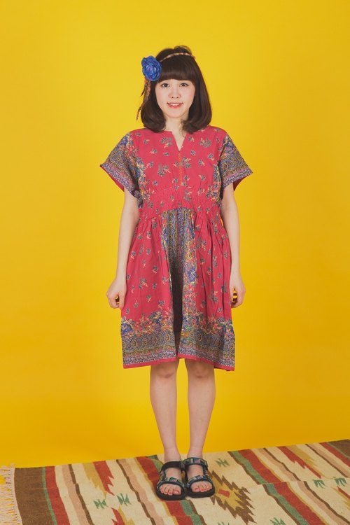 ☼saibaba ethnique // specially designed floral dress ☼ (pre-order)