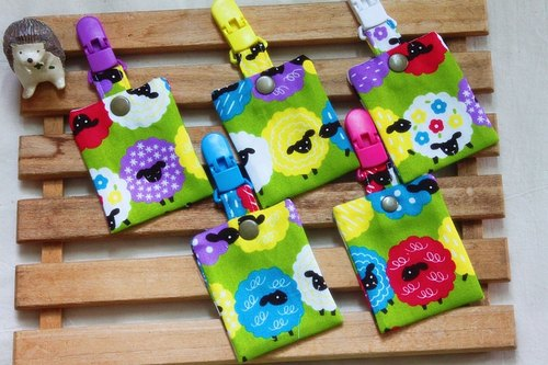 Peace - peace symbol bags (each child) QQ cotton sheep (Green)