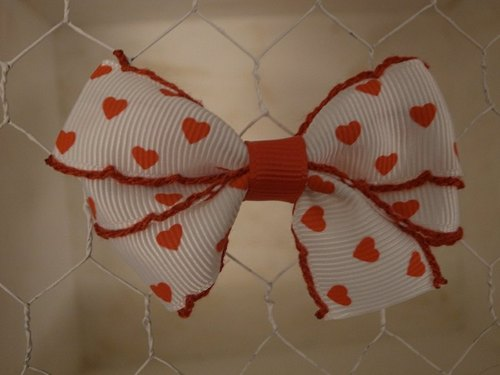 Basic models bow - red love