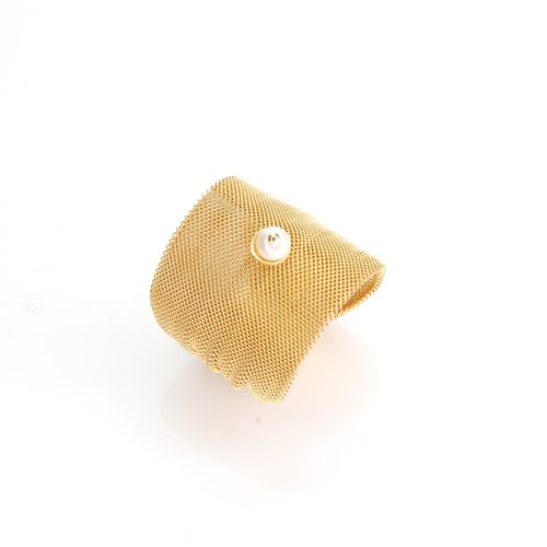 woven tissue ring ring