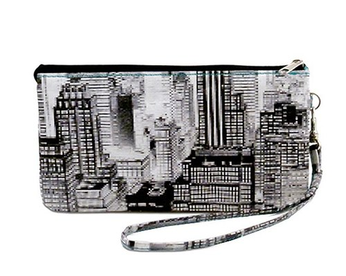 Mighty Wristlet Clutch -NYC multilayer