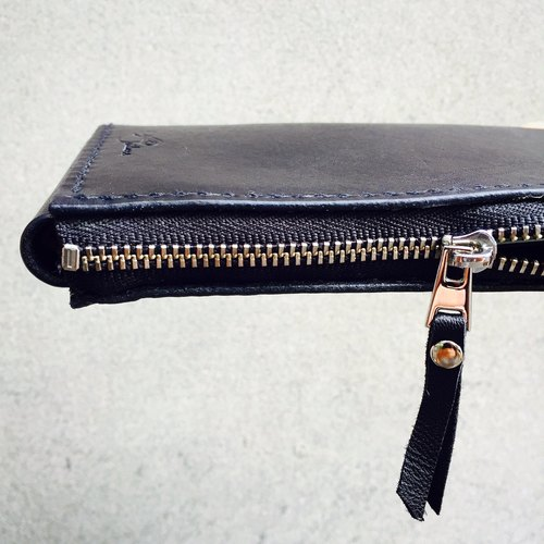I phone 6 + L zipper Clutch