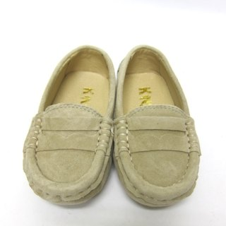 Fort Tony Wang handmade leather shoes (kids) [matte / bean bottom / sand color]