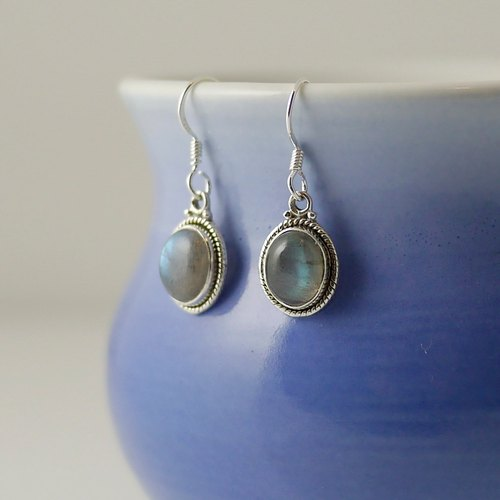 [ColorDay] labradorite (Labradouite) Earrings