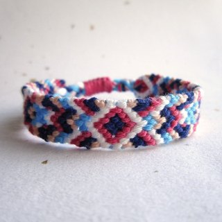 Whimsical world lucky rope woven bracelet (optional color)