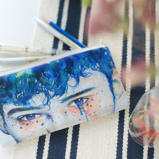 Multifunction Small Items Bag Blue Eyes