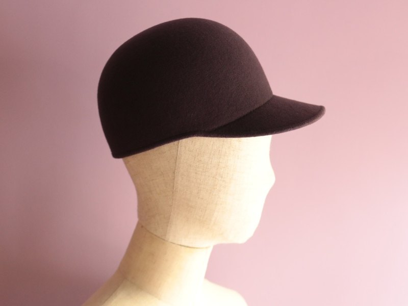 "Wool Felt Baseball Cap ""Sam"""