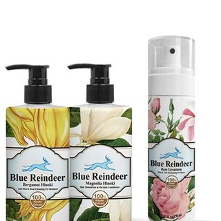 Blue Reindeer worming deep cleansing skin care composition