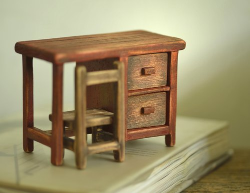 復古創意木頭家具