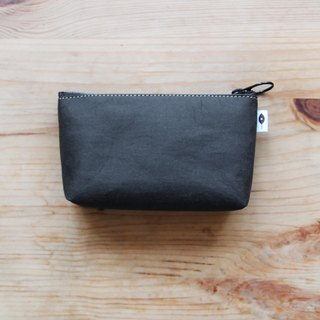 Black Coin Purse(Wide Bottom)