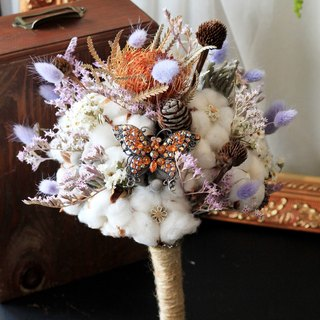 Dried flower bouquet jewelry [paragraph] cotton / Mountain Mao Jian