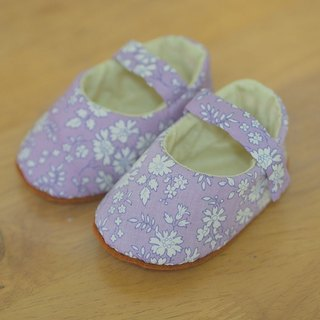 British purple floral · Baby Shoes