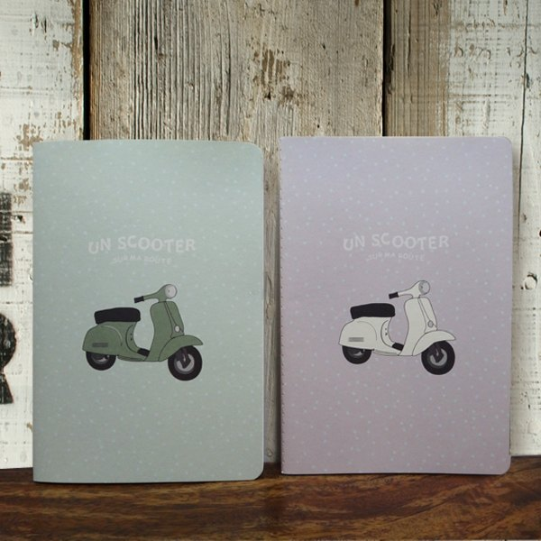 Notebook Scooter-Purple