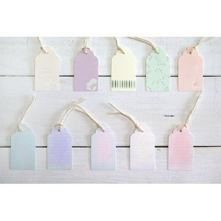GIFT TAG-SCALLOPED-B