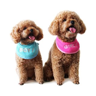 U-PICK original product life of the new animal pet bibs bibs bibs