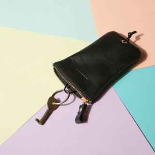 [Keys' Sweet Home / Key Case] ​​ZiBAG-031/ Classic Black Black
