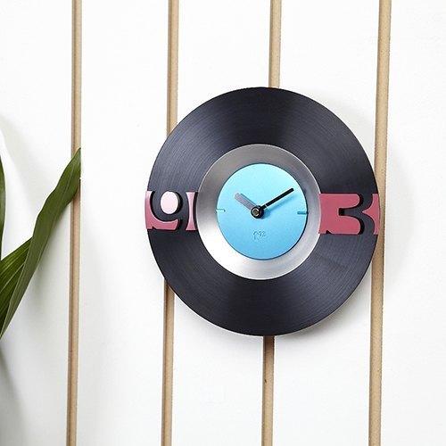 Swap時計系列(黑色鐘面)時尚時鐘