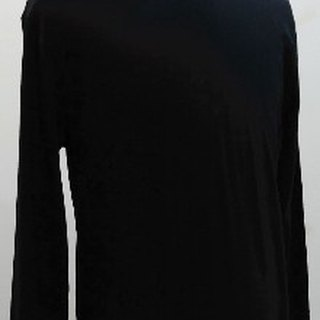 Gain Giogio2014 solid male long sleeve 100% organic cotton T (vintage black)