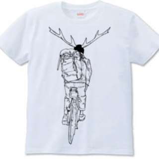 DEER RIDE(t-shirts 6.2oz)