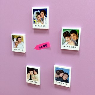 Wedding Gift Package :Polaroid magnets