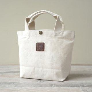 Indian style handbag - Japanese canvas production (natural color)