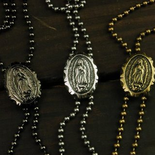 Blessed Virgin Mary (8) Necklace Our Lady necklace round cards 8 characters