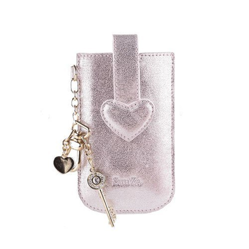LOVE love phone Case - Champagne Silver