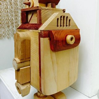Wooden Box Robot - Machine