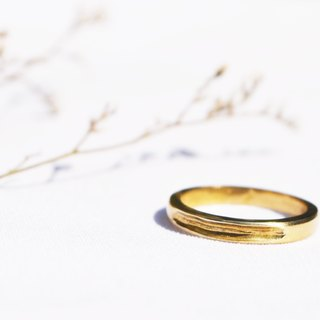 Promise series -Locus -handmade copper ring -