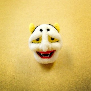 <Wool felt> Japanese Style Hannya(M Size) - by WhizzzPace
