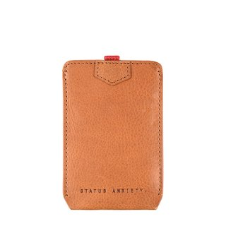 FRANKLIN Card Holder_Tan / Camel