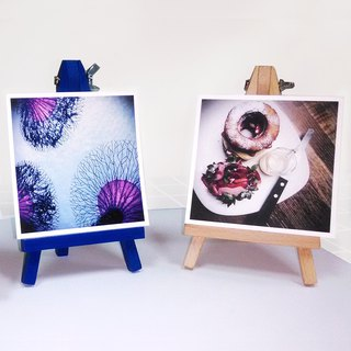 Good time | color small easel (make photo / postcard / card, there is a happy home)