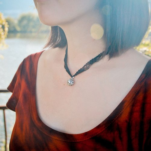 [RE- as accidental - Jieshengjishi - birds fish] independent hand-made hippie simple knotted necklace