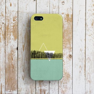 Finland Forest -- Designer iPhone Case. Pattern iPhone Case.