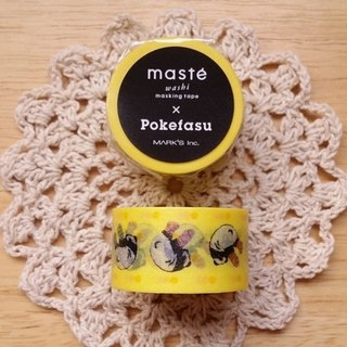 Mastee and paper tape COLLABO joint series [Pokefasu (MST-MKT23-YE)]