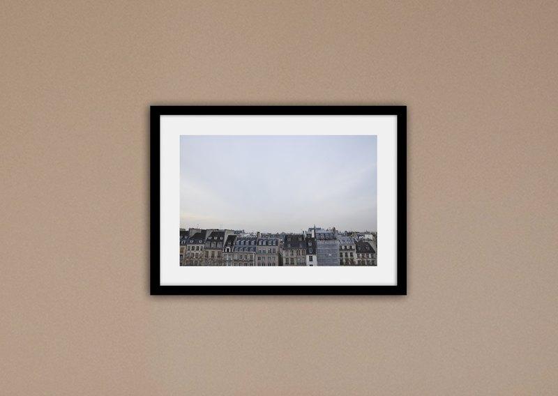 攝影   法國/巴黎的房子們 (不含框/可加價購框)
