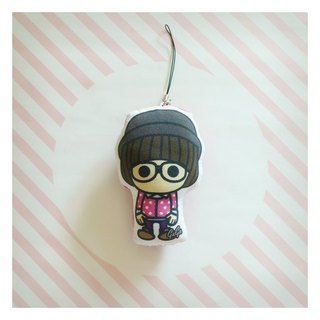 Friends Charm baby ♡ ((momo)) ☌ little knit hat again / glasses