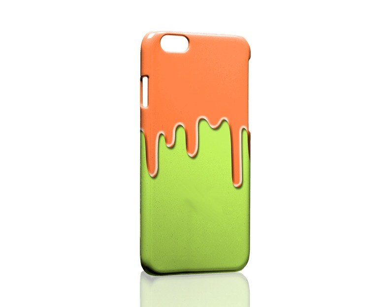 Dissolved! Orange green custom Samsung S5 S6 S7 note4 note5 iPhone 5 5s 6 6s 6 plus 7 7 plus ASUS HTC m9 Sony LG g4 g5 v10 phone shell mobile phone sets phone shell phonecase
