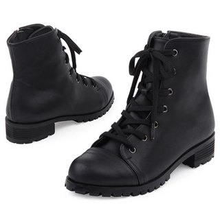 【Korean trend】SPUR Modern work boots FF7047 BLACK