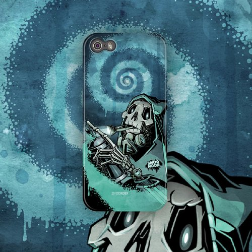 ▷ Umade ◀ SMOG MOON [iPhone7 (i7, i7plus, i6, i6s, i6plus, i6splus, i5se, i5s, i5c) / Android (Samsung, Samsung, HTC, Sony) Phone Case / Accessories - matte hard shell - artists] FOORIDER (FROM JAPAN)