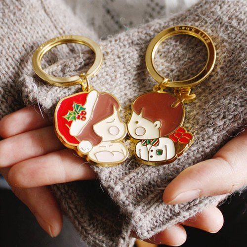 U-PICK original product life New Year series of original creative couple keychain car key ring keychain