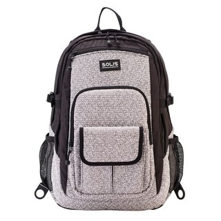 "SOLIS [ Smoker Series ] 15"" Advanced Laptop Backpack(Nimbus Cloud)"